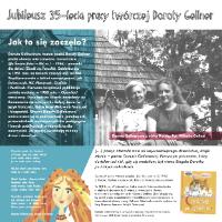 Jubileusz 35-lecia pracy twórczej Doroty Gellner. Wystawa